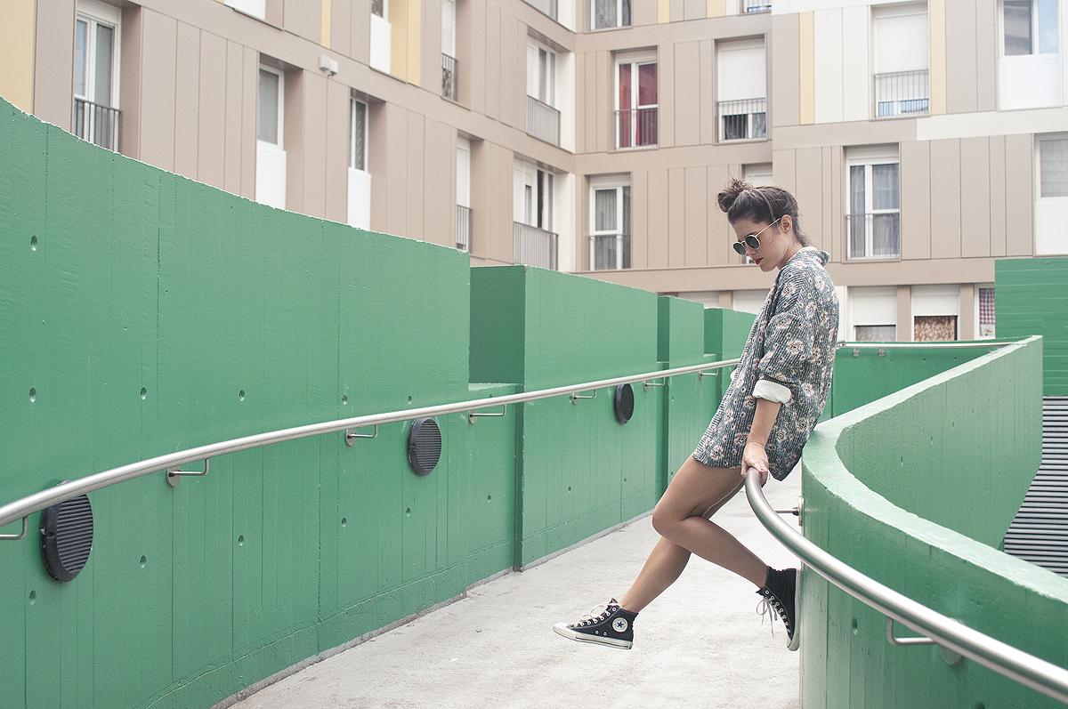Streetstyle de fin d'été pour Anne-Laure
