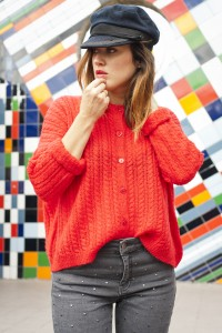 Photo de look pour la blogueuse Latelierdal - photographe : Virginie Zilbermann