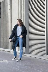 Looks des blogueuses du groupe 1P10S pour Mode by Cache Cache, Streetstyle de la blogueuse Aurélie Malau par Virginie Zilbermann