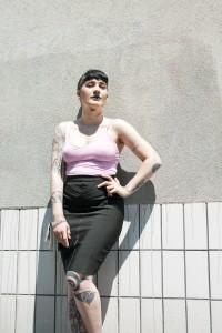 Sreetstyle de Virginie Zilbermann pour la blogueuse Lorna Sharp, Paris, mode, femme, portrait, photographie, fashion, style, blog