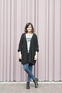 Looks des blogueuses du groupe 1P10S pour Mode by Cache Cache, Streetstyle de Victoria du blog Mango and Salt par Virginie Zilbermann