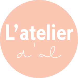 Logo, blog, latelierdal