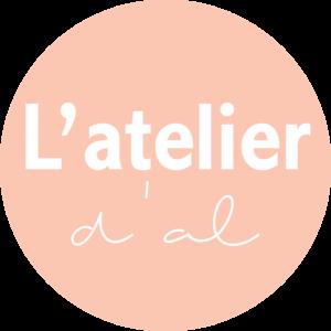Logo, blog, latelierdal