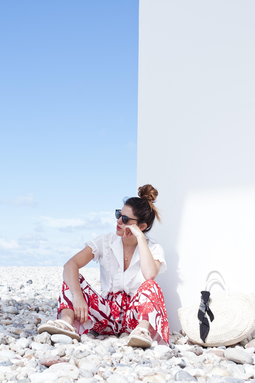 Photo de look pour la blogueuse Latelierdal - photographe : Virginie Zilbermann
