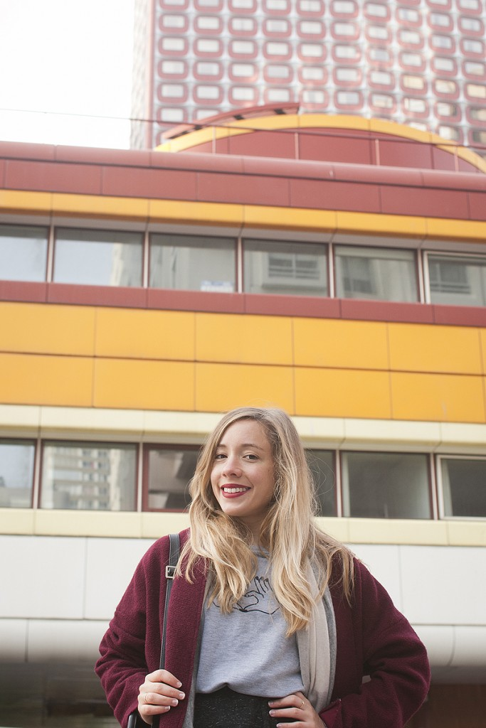 Looks des blogueuses du groupe 1P10S pour Mode by Cache Cache, Streetstyle de Chloé du blog La Penderie de Chloé par Virginie Zilbermann