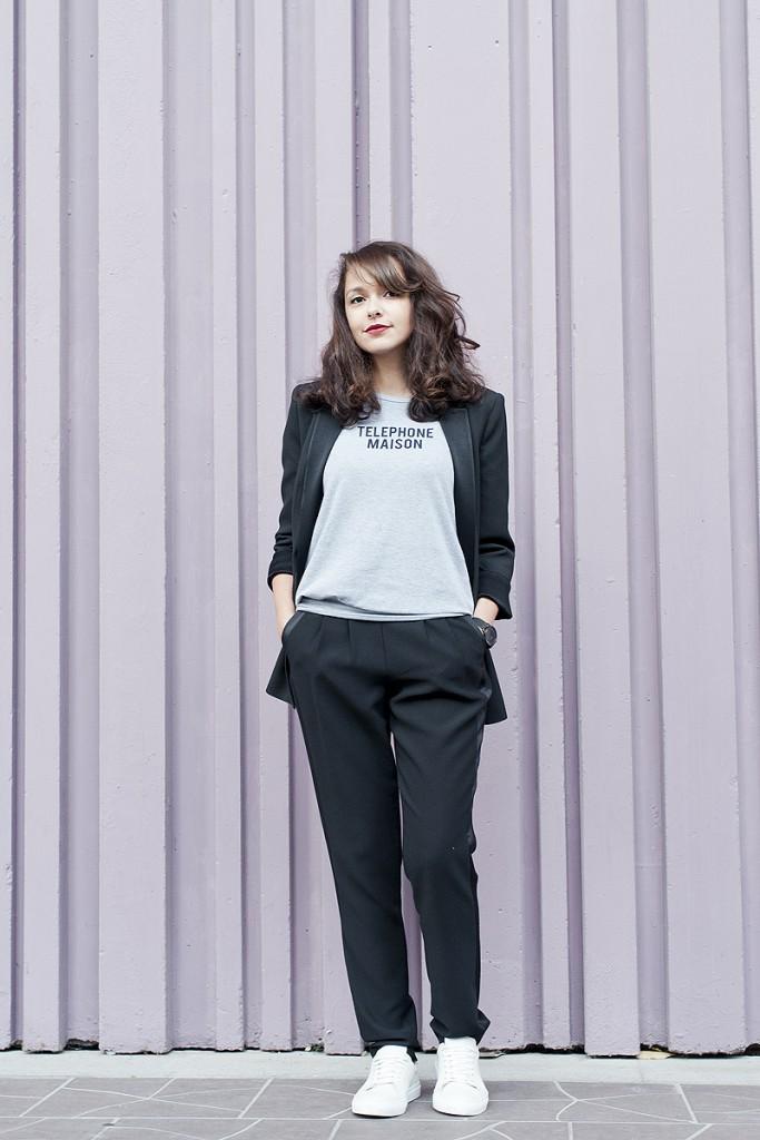 Looks des blogueuses du groupe 1P10S pour Mode by Cache Cache, Streetstyle de Jessica du blog Dolly Jessy par Virginie Zilbermann