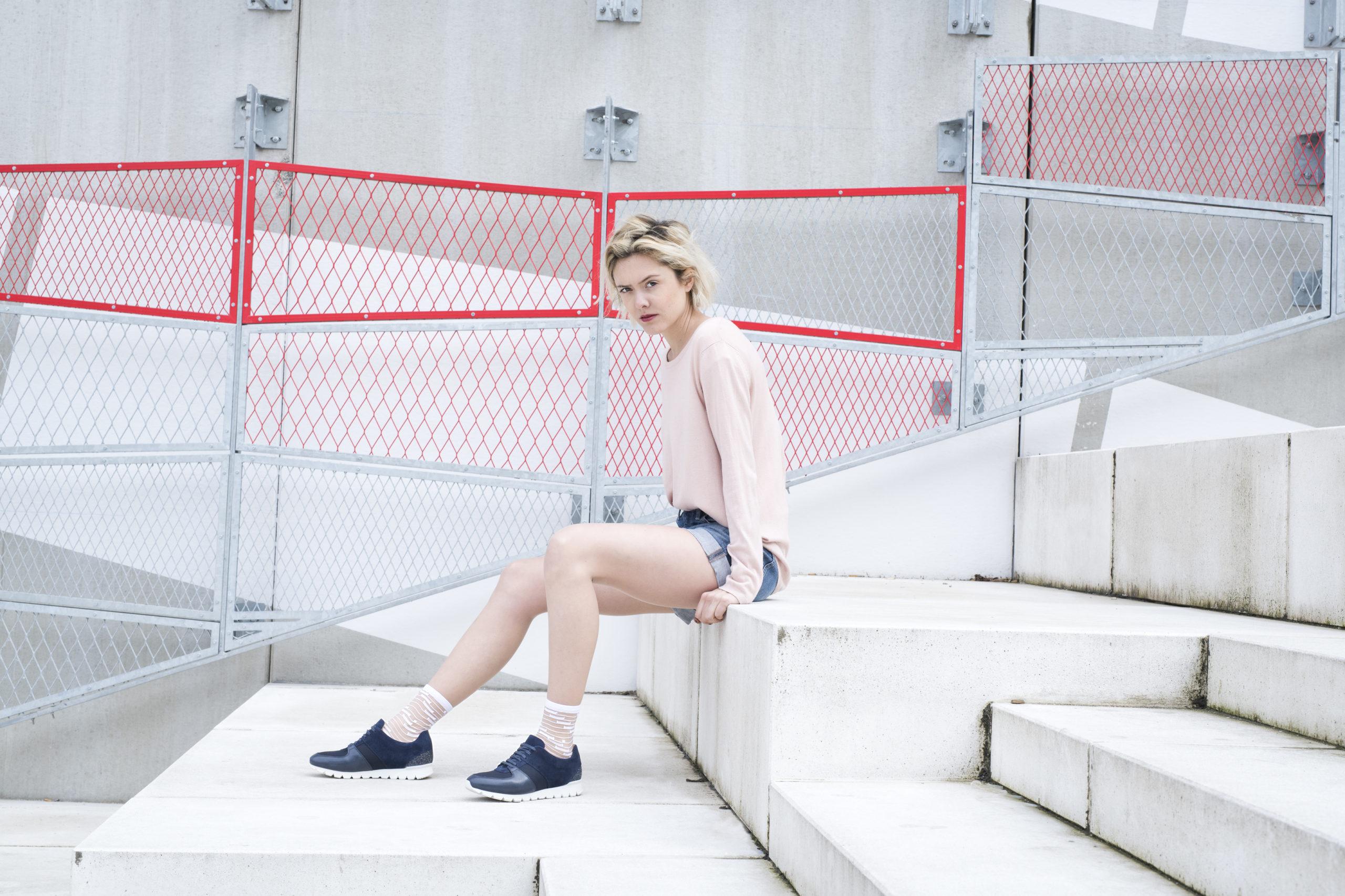 Virginie Zilbermann, photographe, chaussettes, Atelier St Eustache, Photo de photographe professionnel, Site portfolio photographePhotographe paris mode