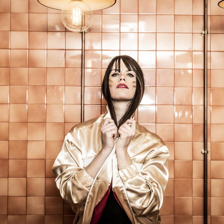 Marine Le Quentrec, créatrice française, mode, jeune créatrice, Gang de Filles, portrait, photographe, shooting photo, Les Nanas d'Paname