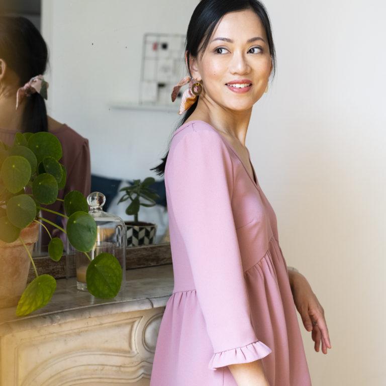 Julie Luong-Si, créatrice française, Petite and so what, shooting photo, portrait, photographe, virginie zilbermann